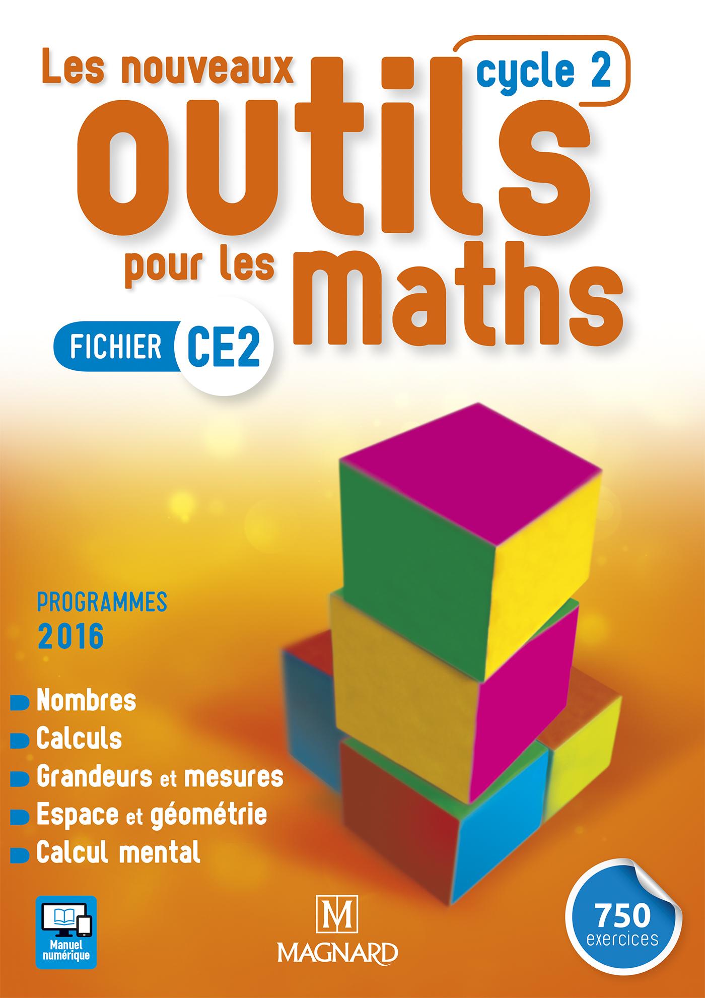 Les Nouveaux Outils Pour Les Maths Ce2 (2016) - Fichier De L concernant Exercice Ce2 En Ligne Gratuit