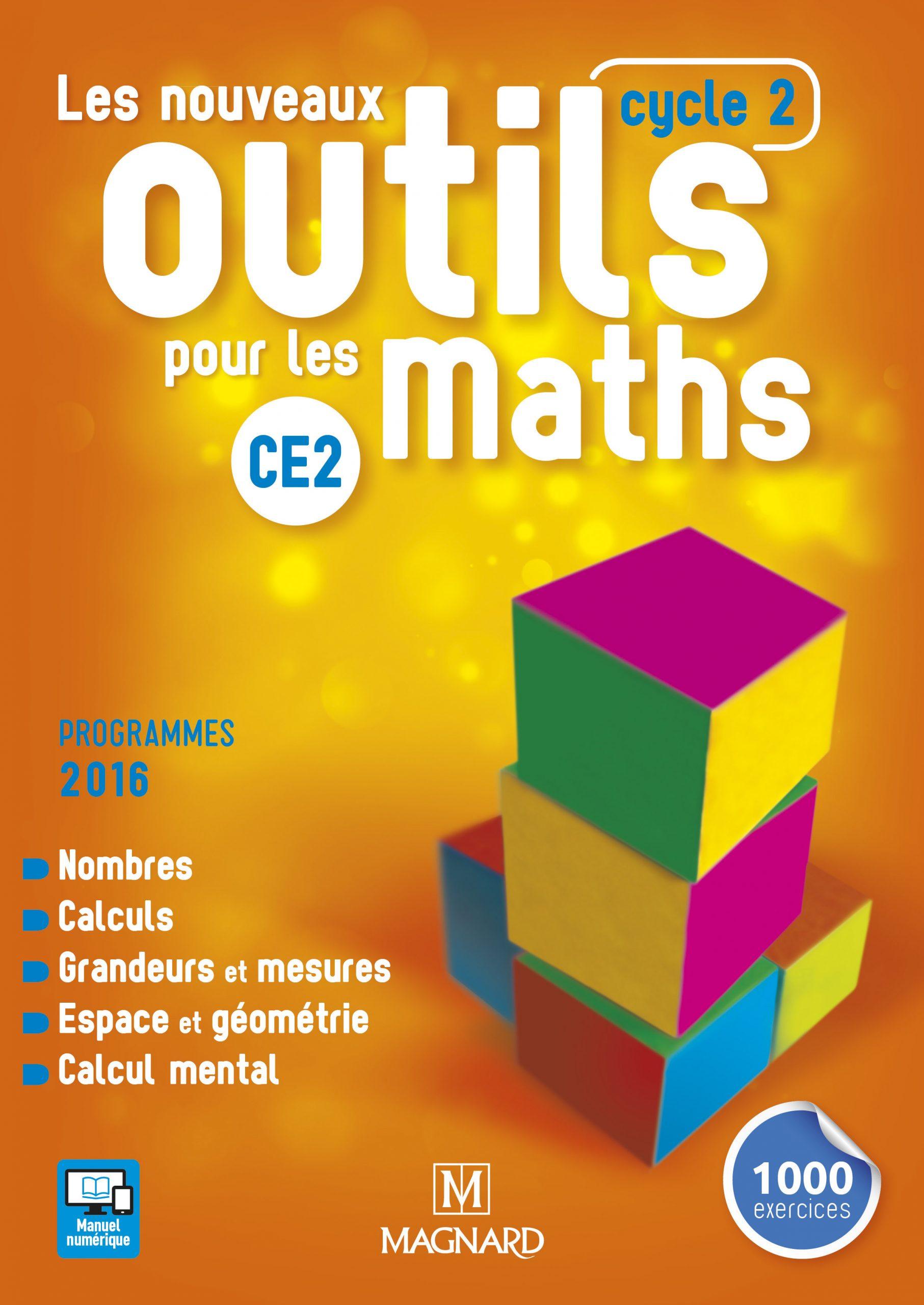 Les Nouveaux Outils Pour Les Maths Ce2 (2017) - Manuel De L encequiconcerne Exercices Maths Ce2 À Imprimer