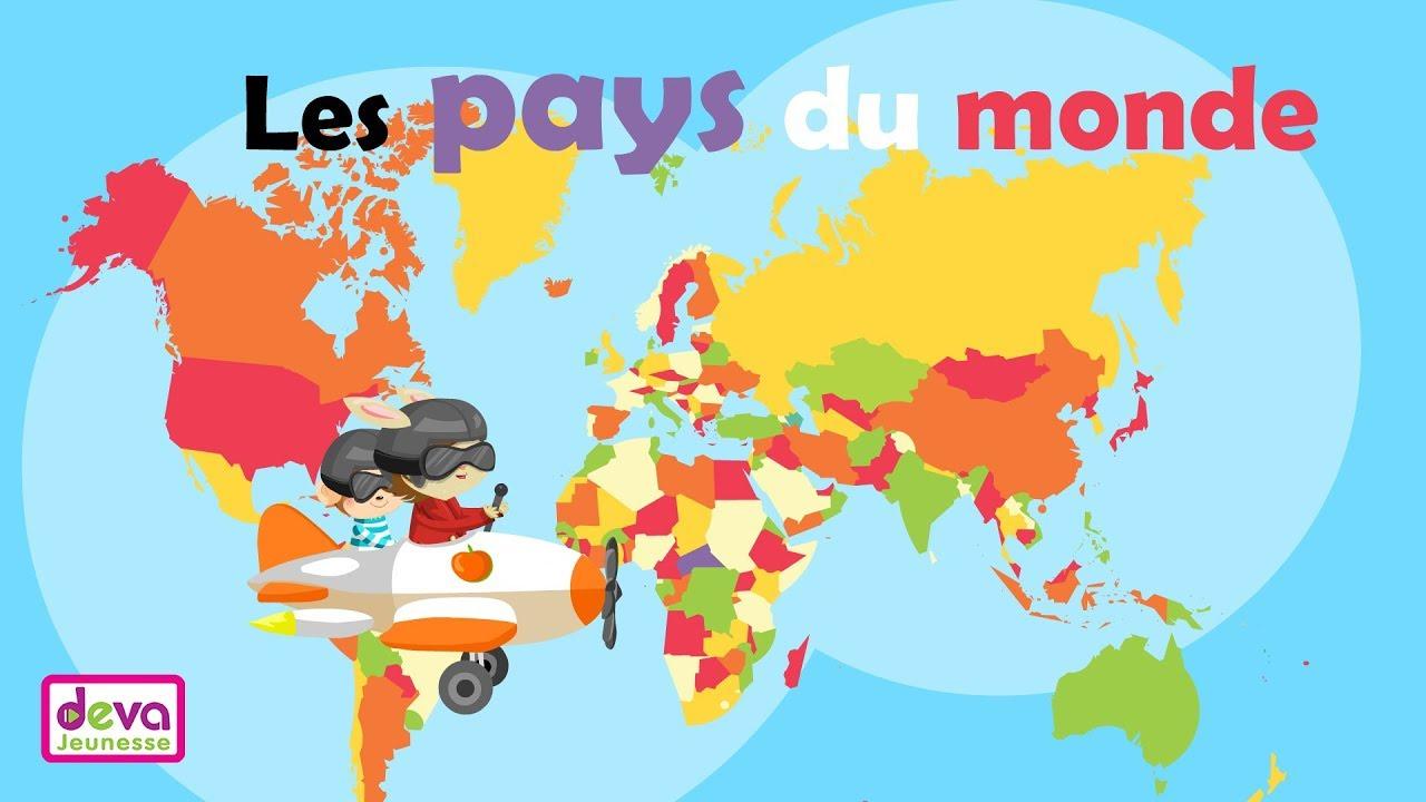 Les Pays - Arts Et Voyages destiné Carte Du Monde Et Leur Capitale