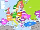 Les Pays De L'europe Et Leurs Capitales tout Pays D Europe Et Capitales