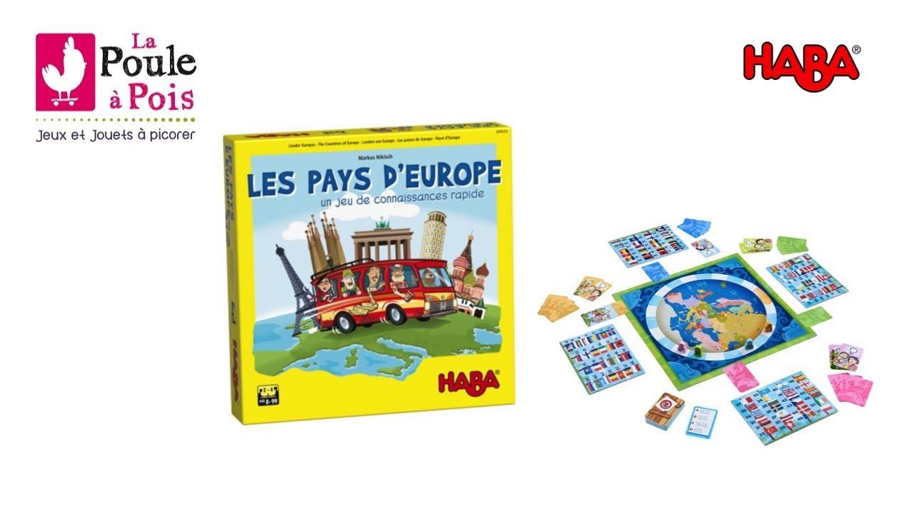 Les Pays D'europe - Jeu Éducatif - Haba - Lapouleapois.fr concernant Pays D Europe Jeux Gratuit