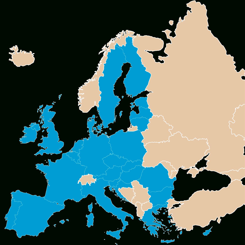 Les Pays Membres De L'union Européenne | Parlement Européen concernant Pays Membre De L Europe