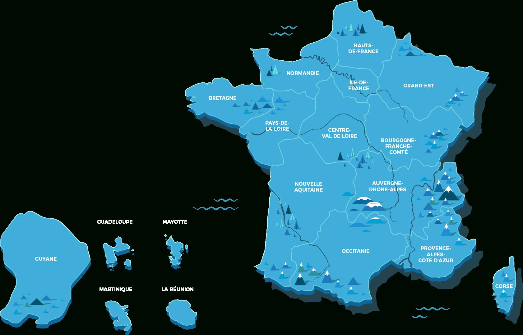 Les Régions De France - Jeu Géographie | Lumni destiné Les Régions De France Jeux