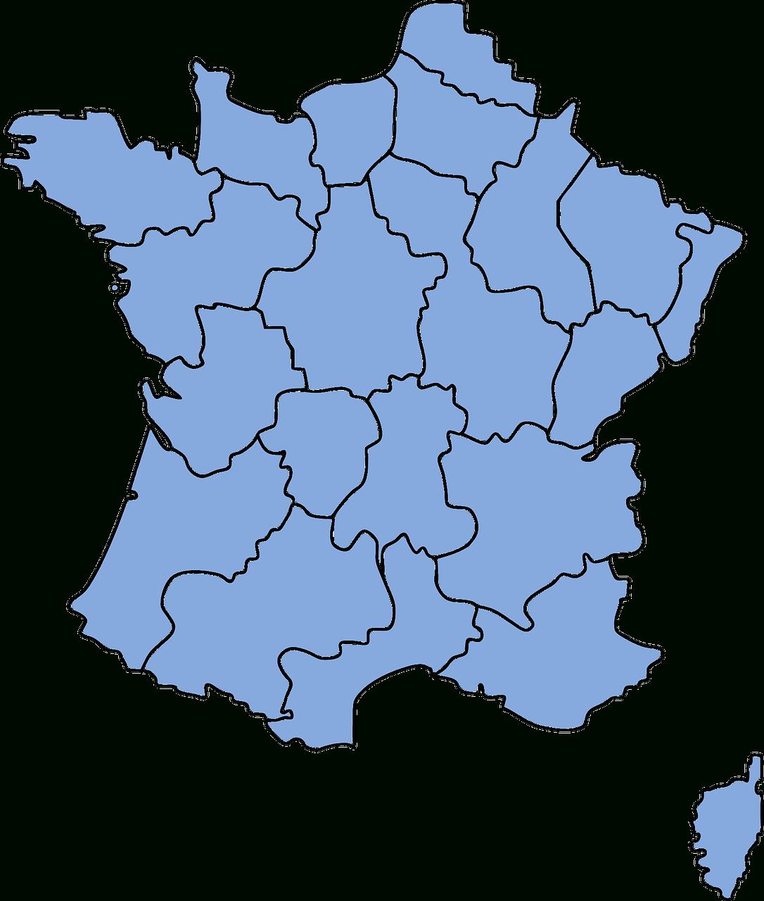 Les Régions De Nouveau En Découpage - Bounce Mag destiné Le Nouveau Découpage Des Régions
