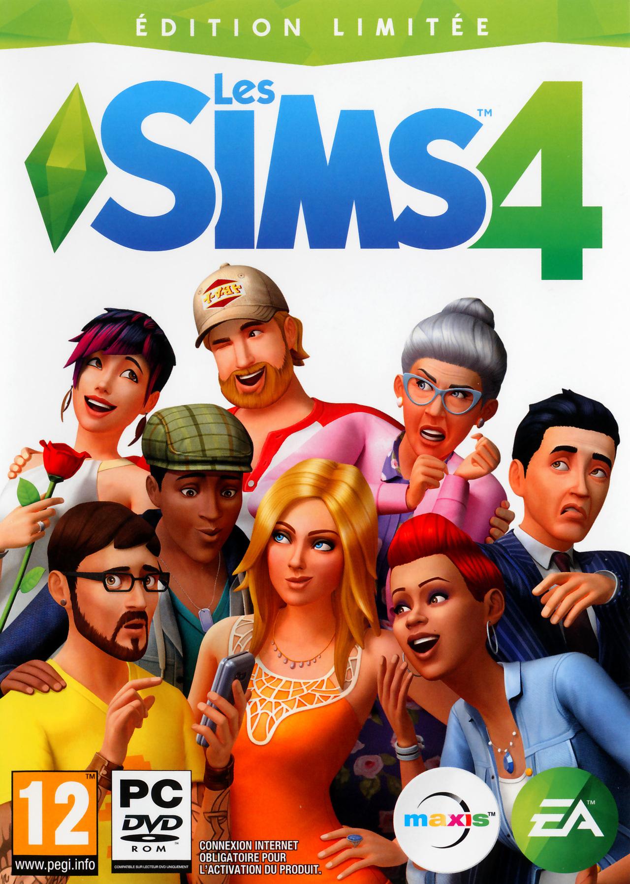 Les Sims 4 - Jeuxvideo avec Jeu De 4 Images
