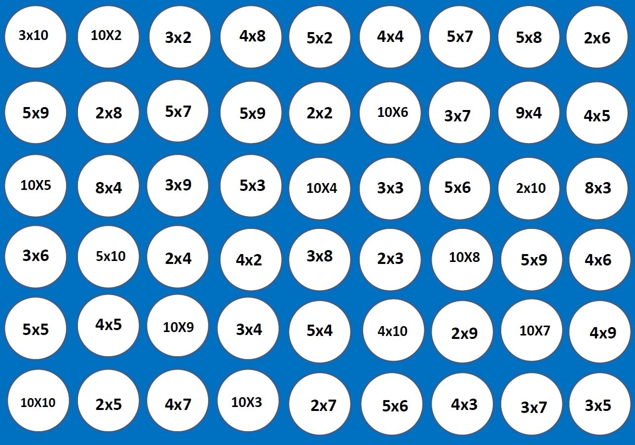 Les Tables Avec Puissance 4 : Entraînements, Jeux à Jeu De 4 Images