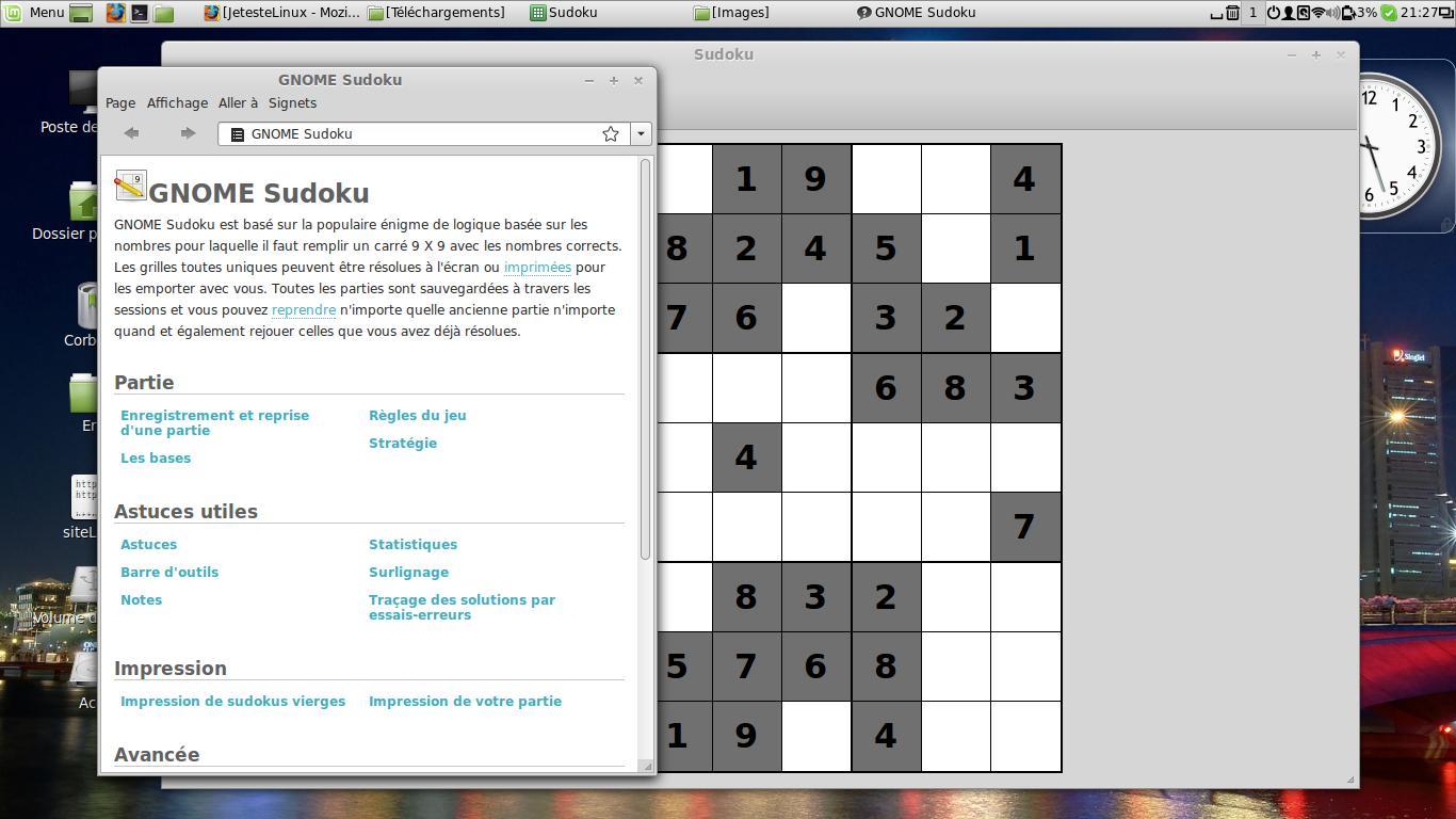 L'été Est Là, Alors Un Peu De Détente Sous Linux avec Comment Jouer Sudoku