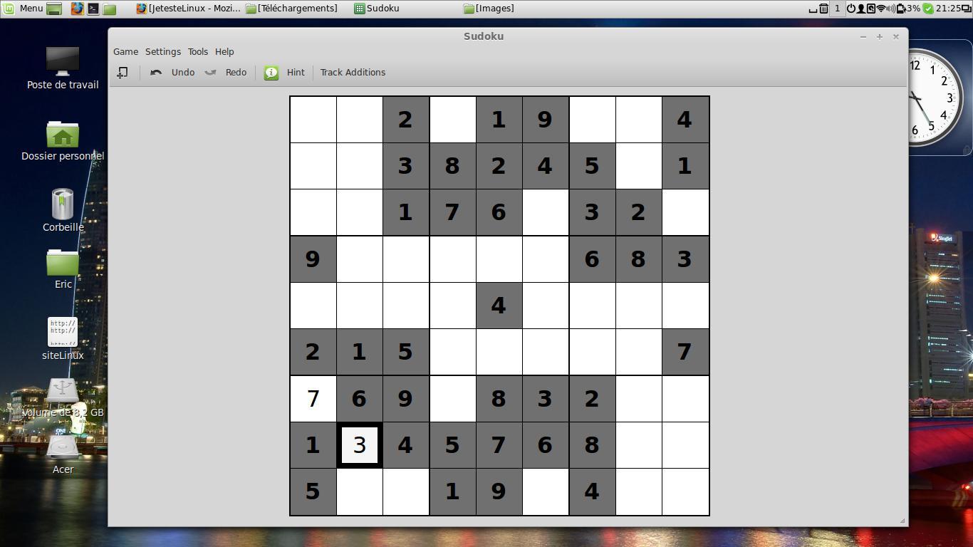 L'été Est Là, Alors Un Peu De Détente Sous Linux dedans Jeux Sudoku À Imprimer