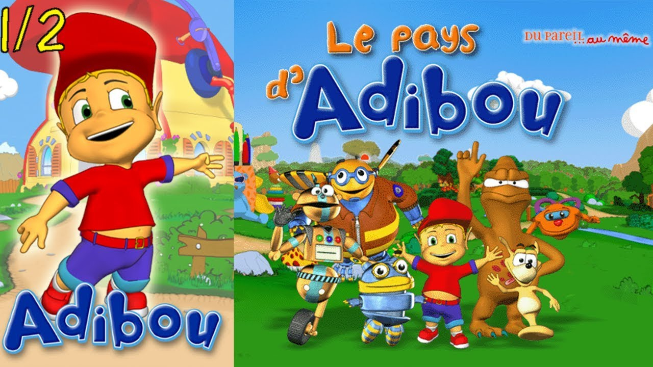 Let's Play Adibou 3 - Démos Des Cds Applications Partie 1 serapportantà Telecharger Adibou Gratuitement