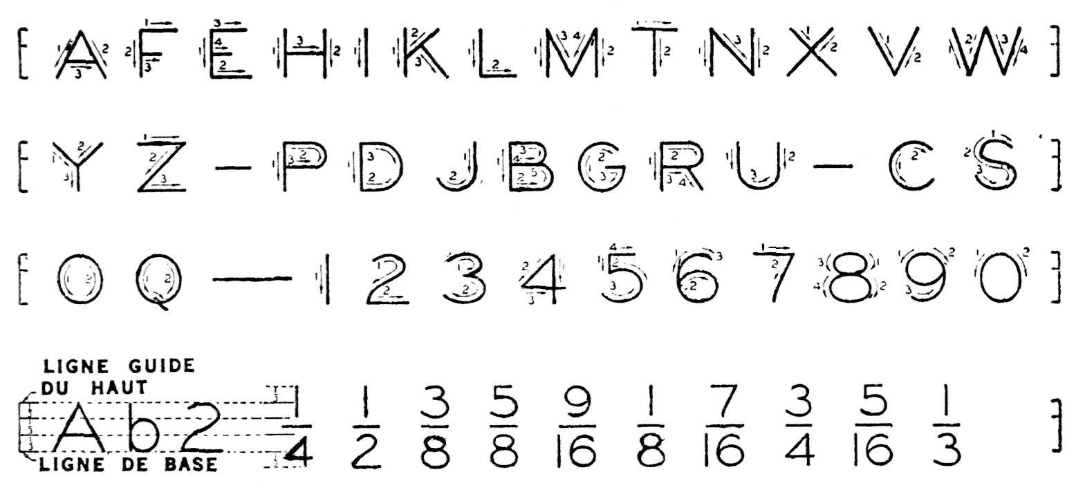 Lettrage Et Lignes destiné Écriture Des Lettres Majuscules