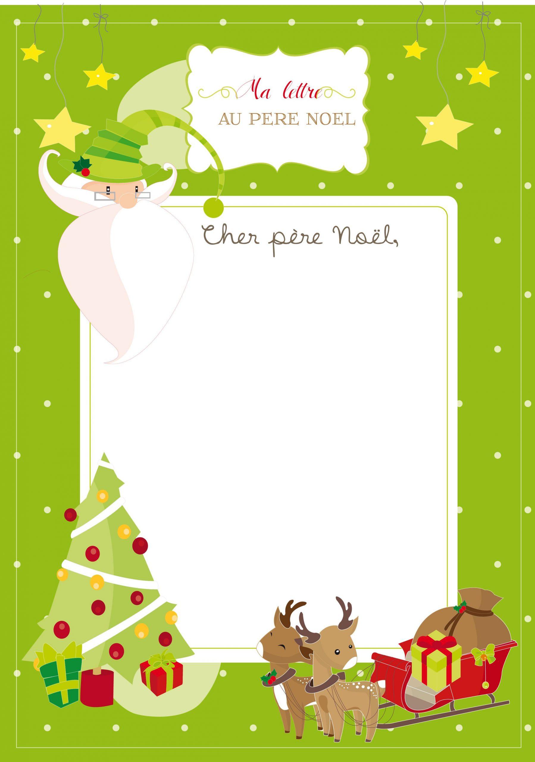 Lettre Au Père Noël | Lettre Pere Noel, Pere Noel A Imprimer concernant Papier À Lettre Père Noel À Imprimer Gratuitement