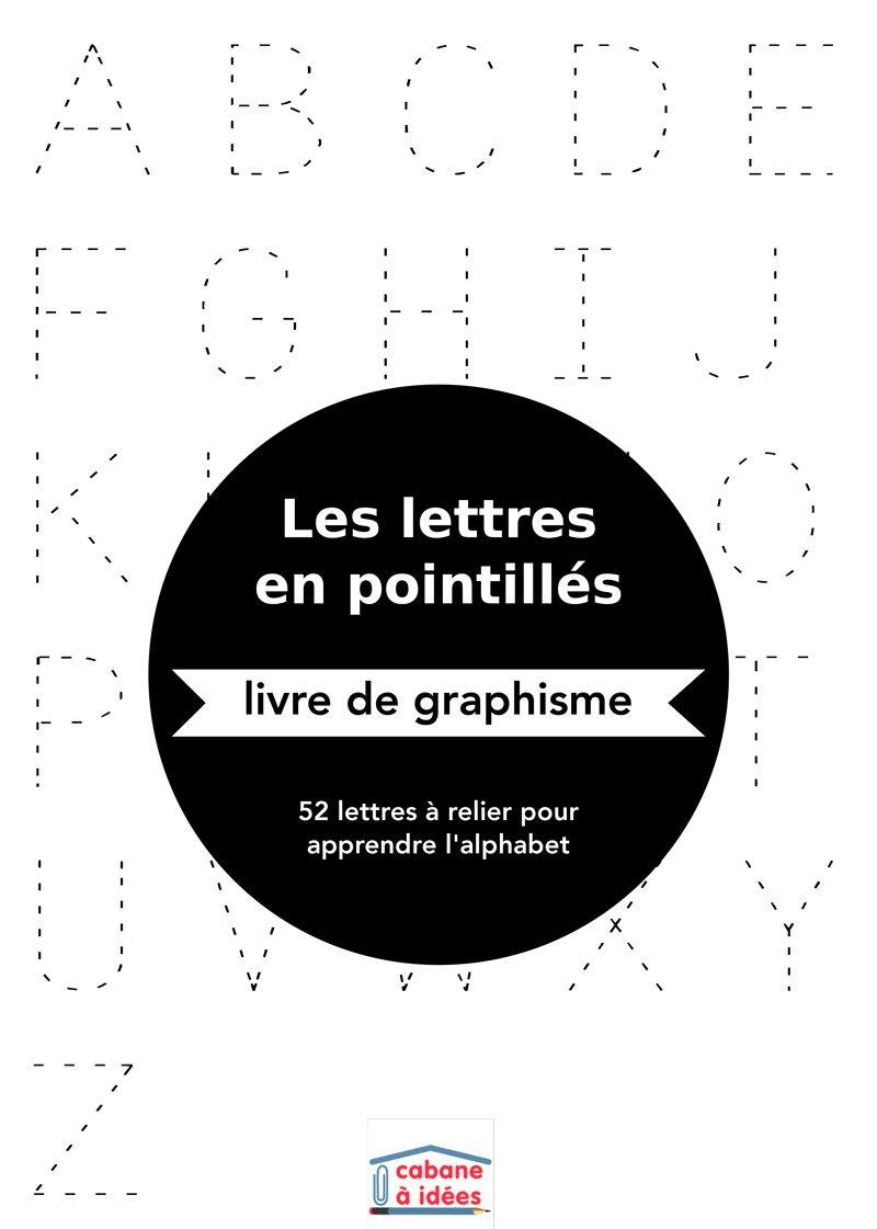 Lettres En Pointillés | Lettre A, Tracer Des Lettres Et intérieur Lettres En Pointillés À Imprimer