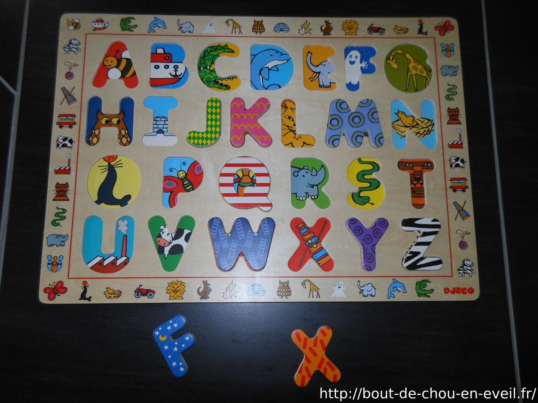 Lettres Puzzle   Bout De Chou En Éveil à Apprendre Les Lettres En Jouant
