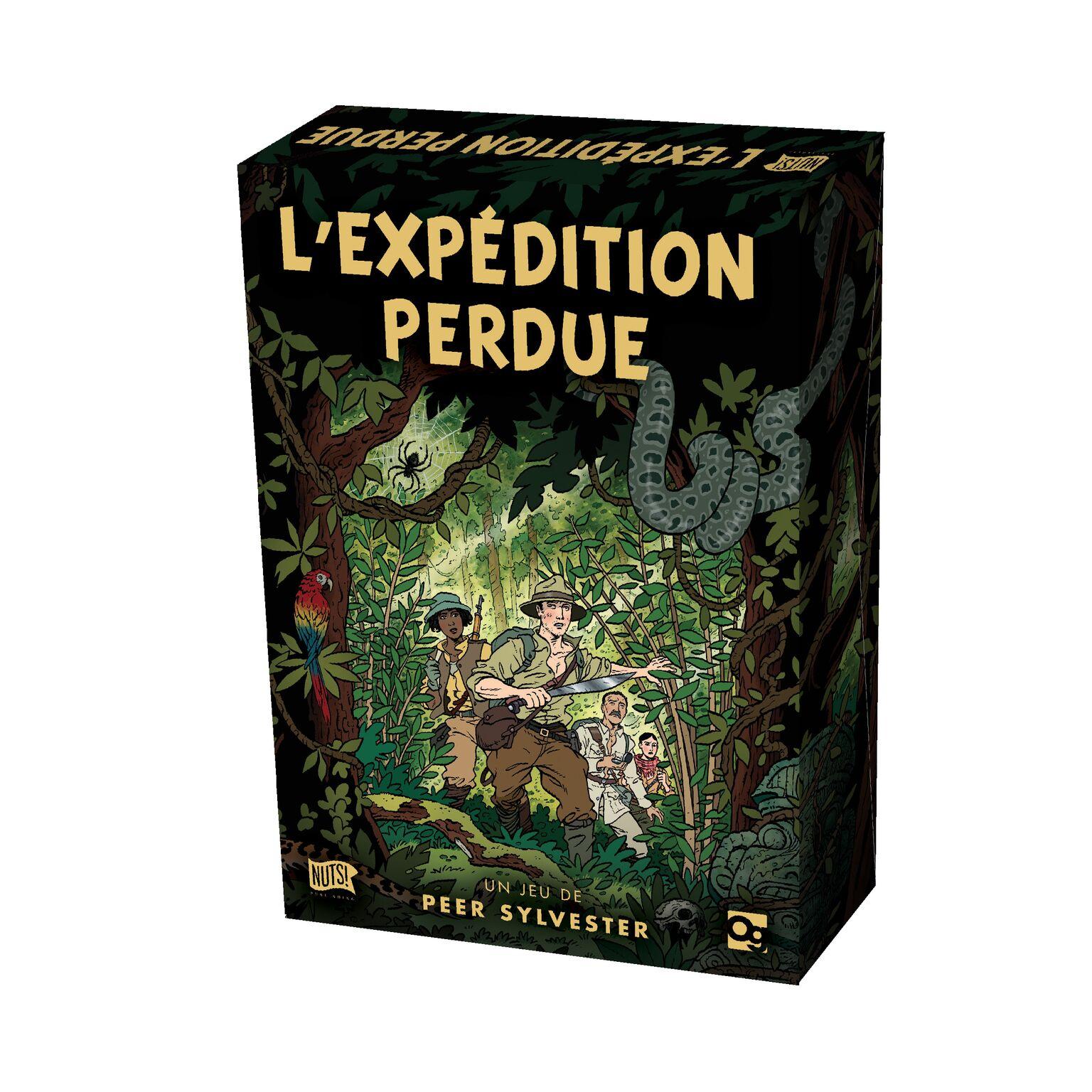 L'expédition Perdue à Puzzle En Ligne Facile