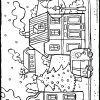 L'hiver Dans Un Village - Kiddicoloriage à Coloriage Village De Noel