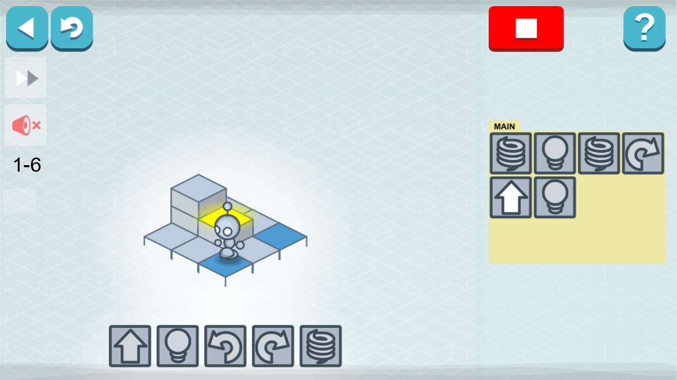 Lightbot tout Puzzle A Faire En Ligne