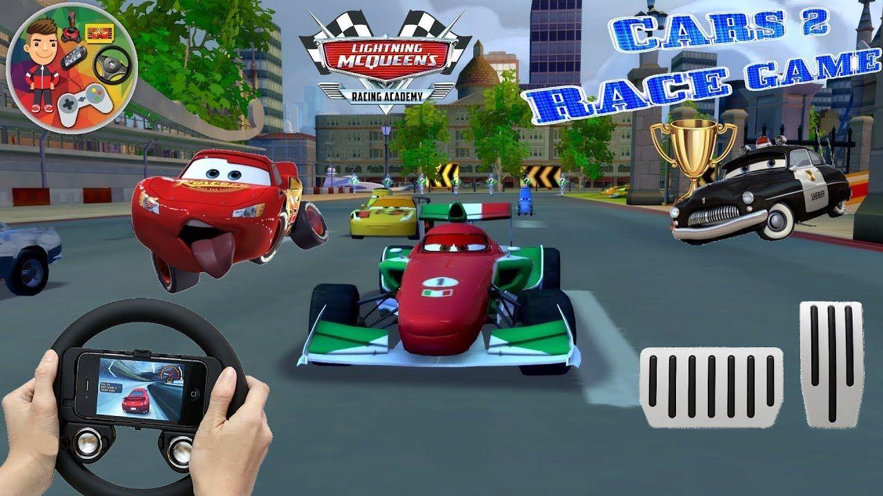Lightning Mcqueen Ultimate Power Wheels Cars Game / Courses avec Course De Voiture Pour Enfant