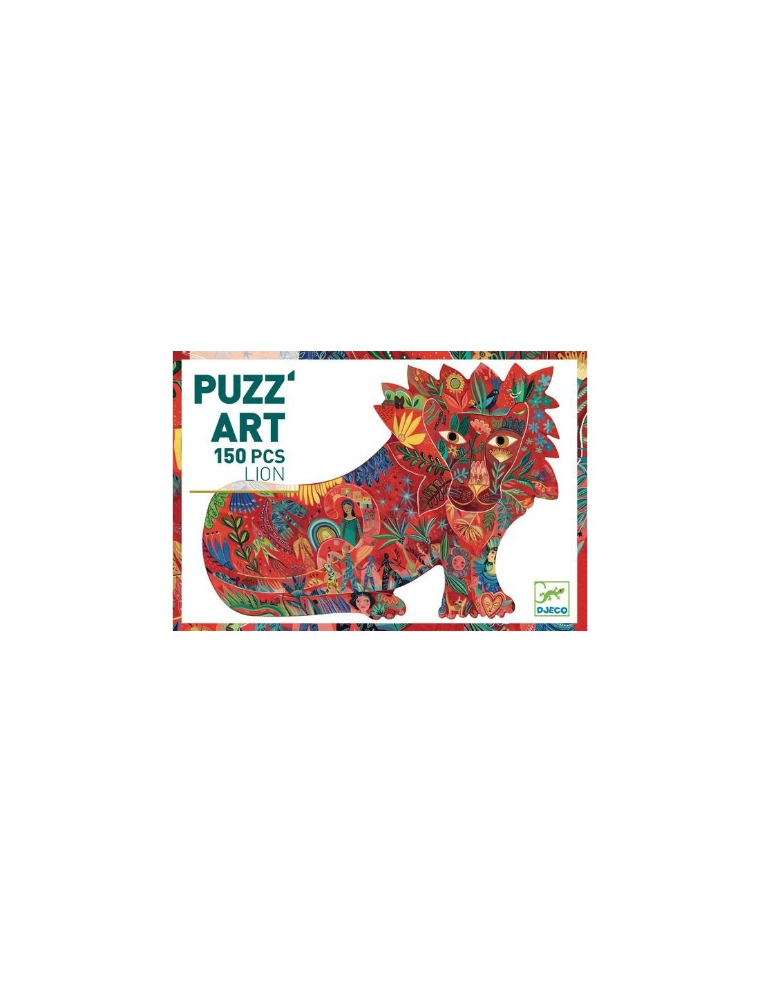 Lion Puzz'art 150 Pièces - Djeco serapportantà Puzzle A Faire En Ligne