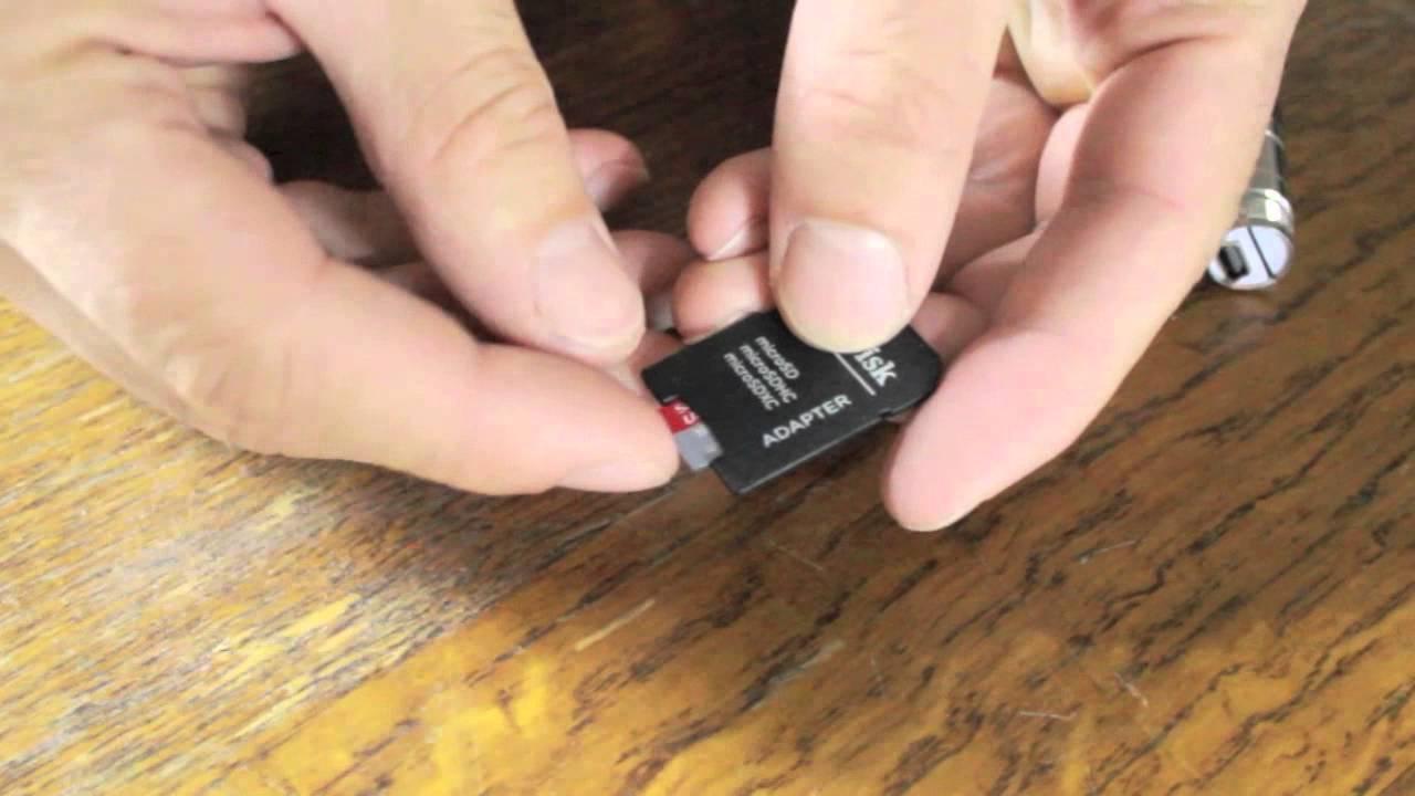 Lire Les Micro Cartes Sd destiné Lire Carte Memoire Sur Pc