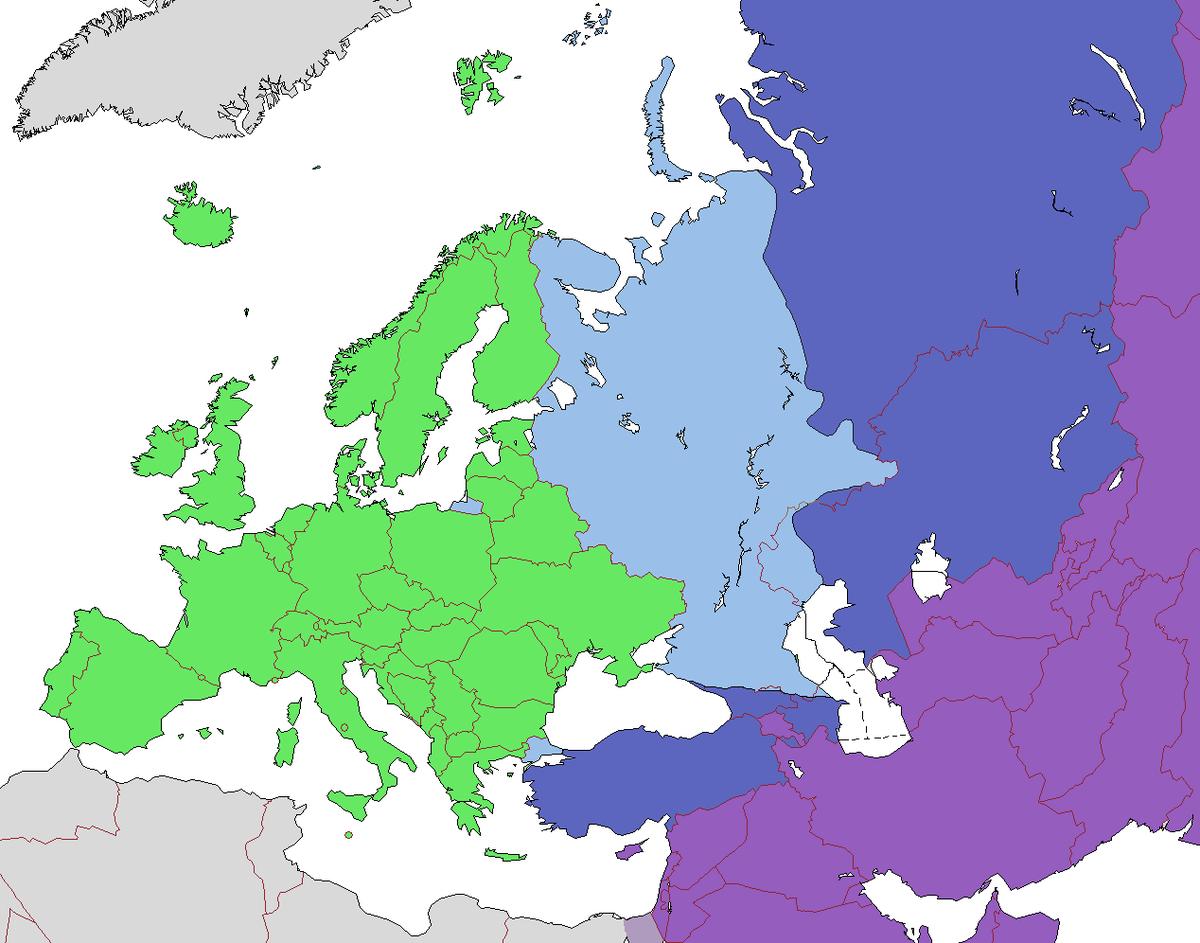 Liste Des Pays D'europe — Wikipédia destiné Les Capitales D Europe