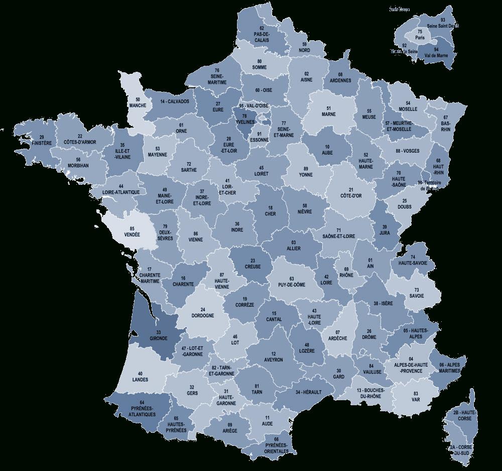 Liste Régions, Départements Et Communes De France. concernant Listes Des Départements Français