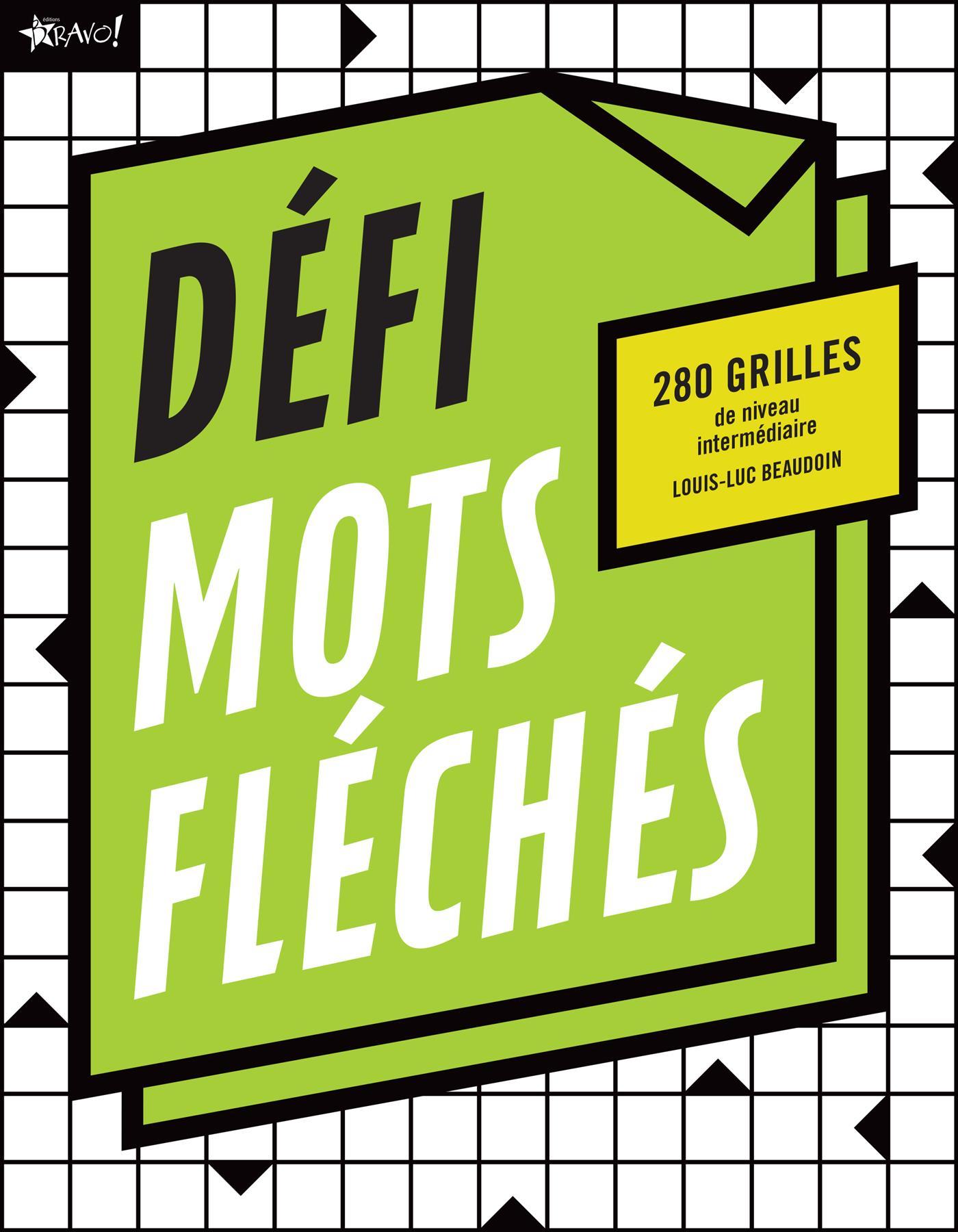 Livre Défi - Mots Fléchés - 280 Grilles | Messageries Adp avec Mots Fleches Gr