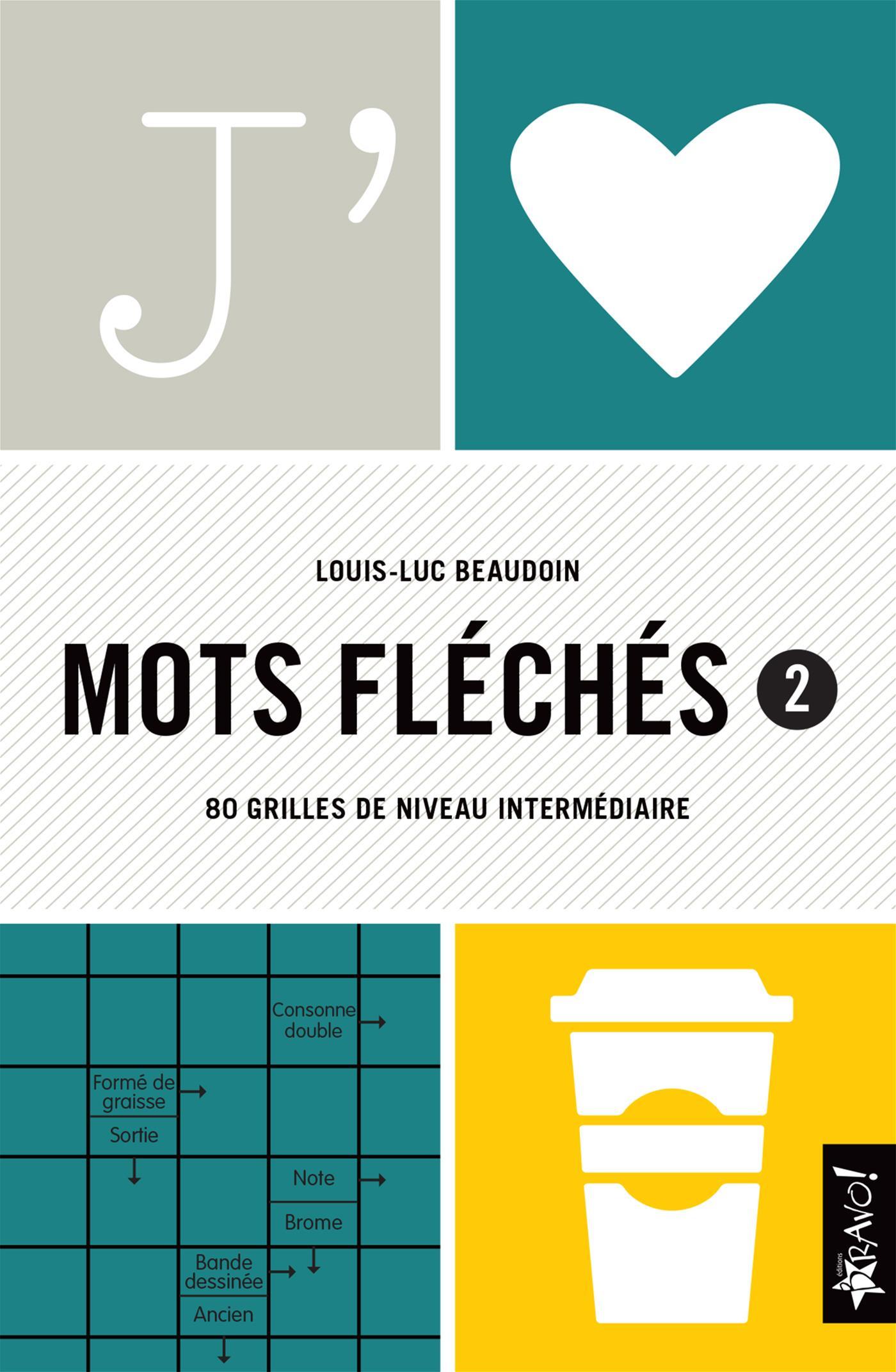 Livre J'aime Mots Fléchés 2 - 80 Grilles De Niveau dedans Mots Fleches Gr