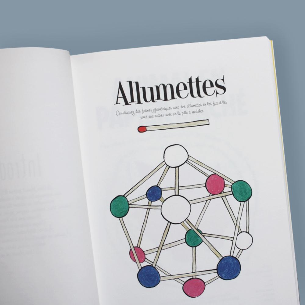 """Livre """"le Gros Manuel"""" Superéditions concernant Activité Manuelle Avec Des Allumettes"""