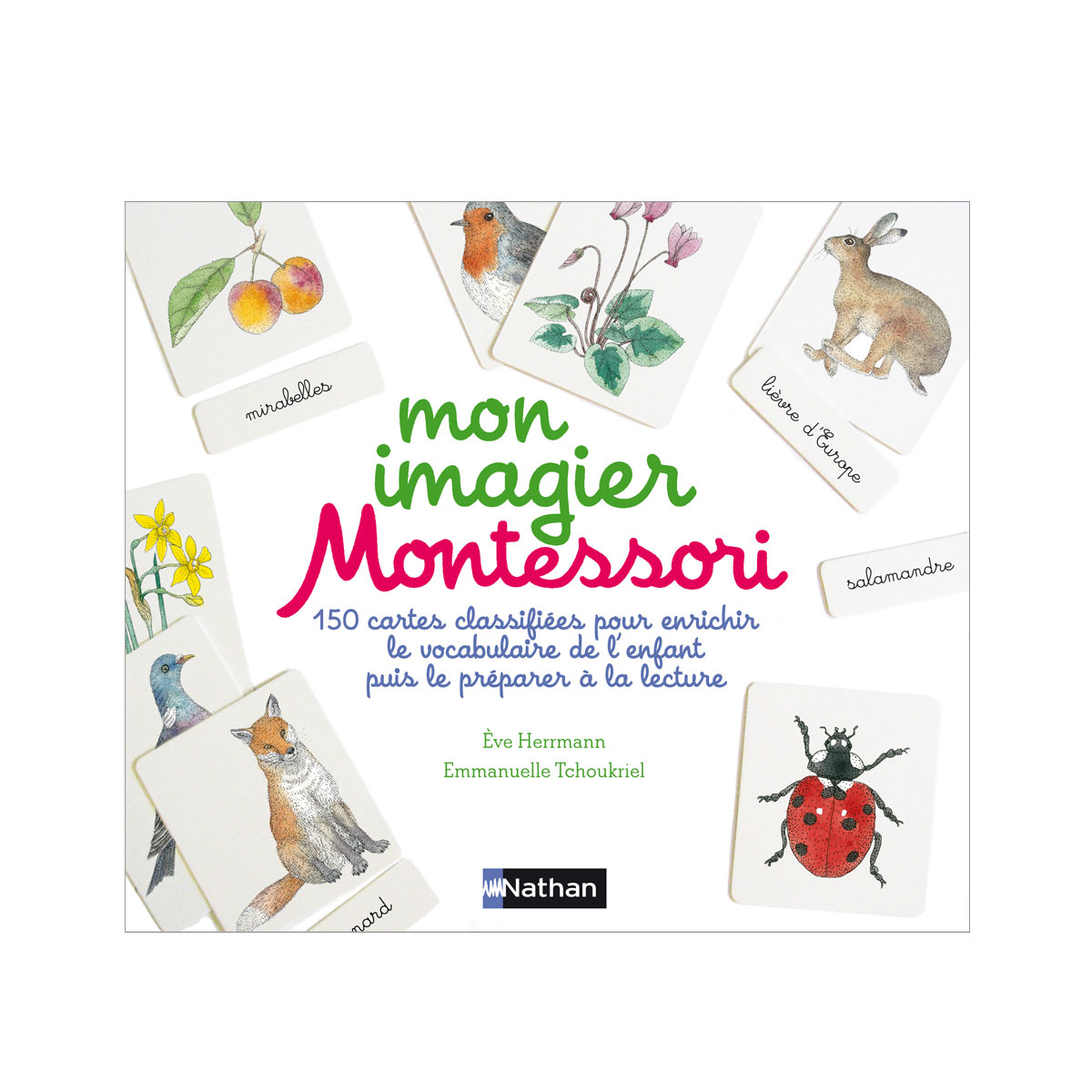 Livre Mon Imagier Montessori pour Imagier Insectes