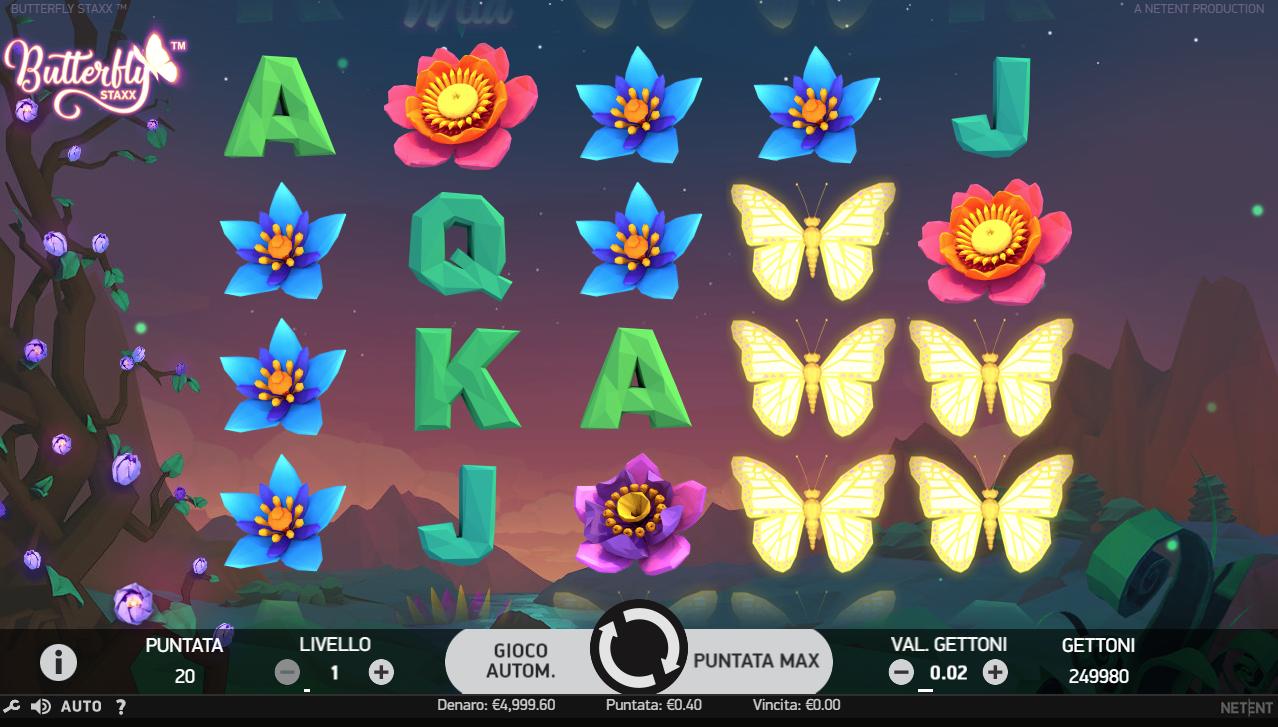 Lll▷ Butterfly Staxx ▷ Jouer Gratuit Machine À Sous En tout Jeux Papillon Gratuits Ligne