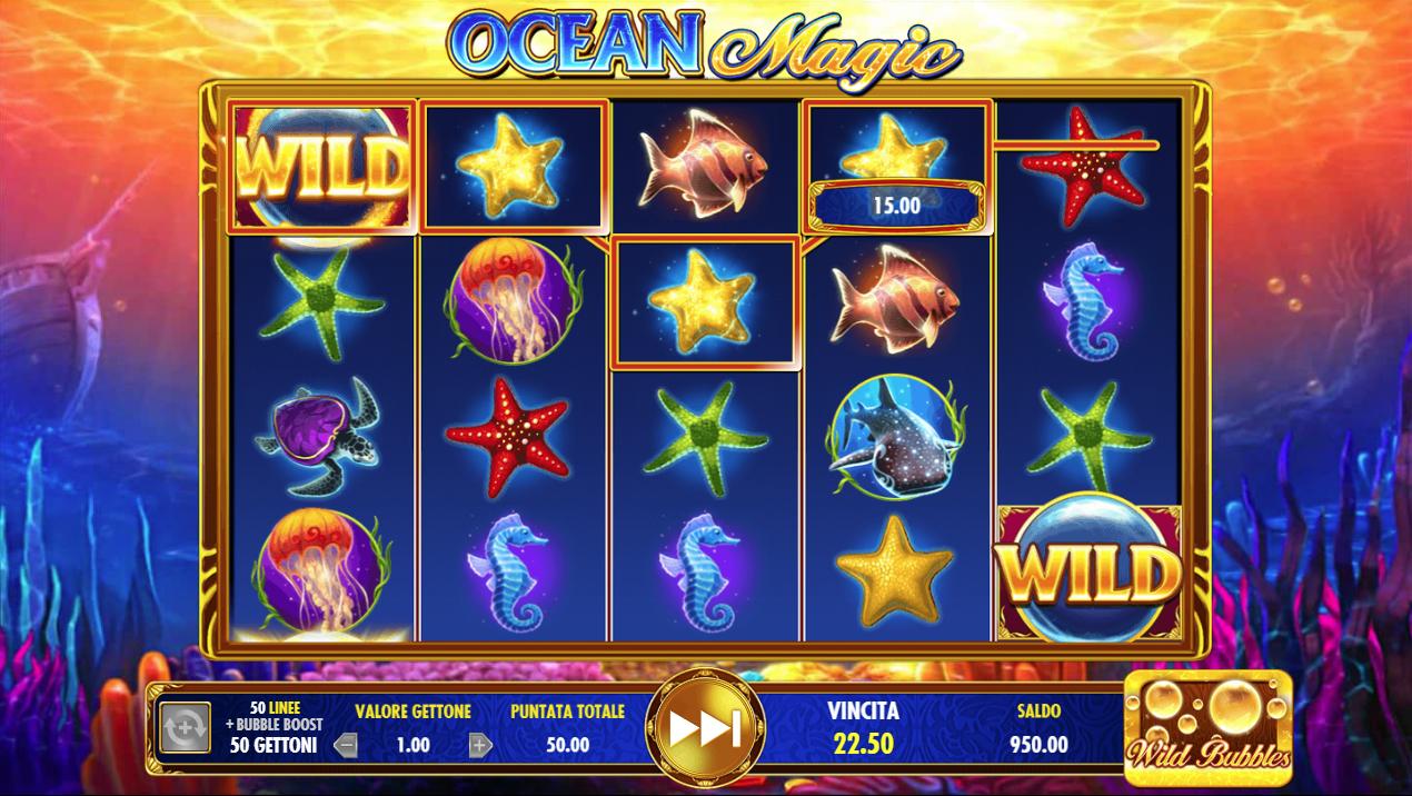 Lll▷ Ocean Magic ▷ Jouer Gratuit Machine À Sous En Ligne concernant Jeux Gratuits De Bulles