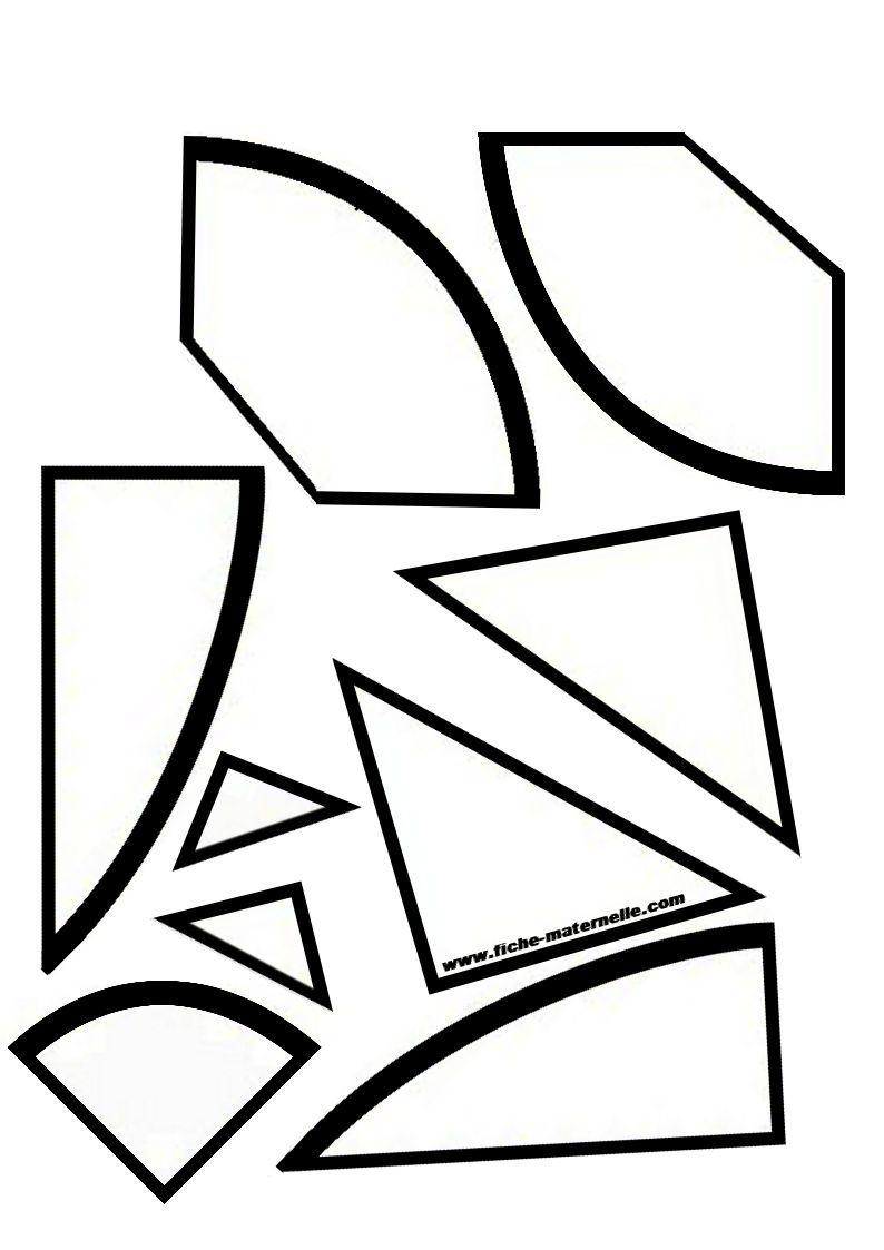 L'oeuf Tangram pour Tangram Grande Section