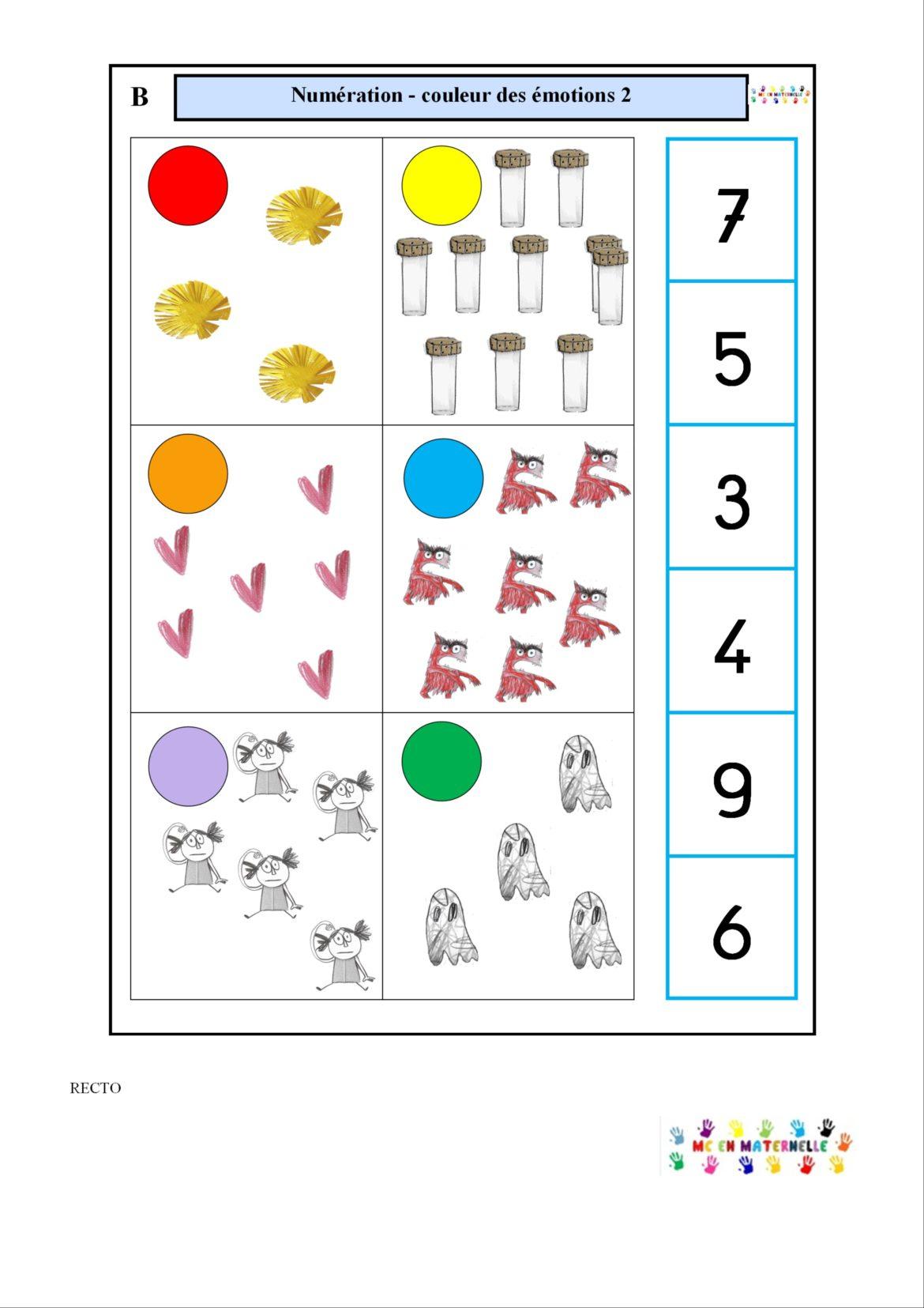 Logico – Mc En Maternelle destiné Fiche Maternelle Petite Section A Imprimer