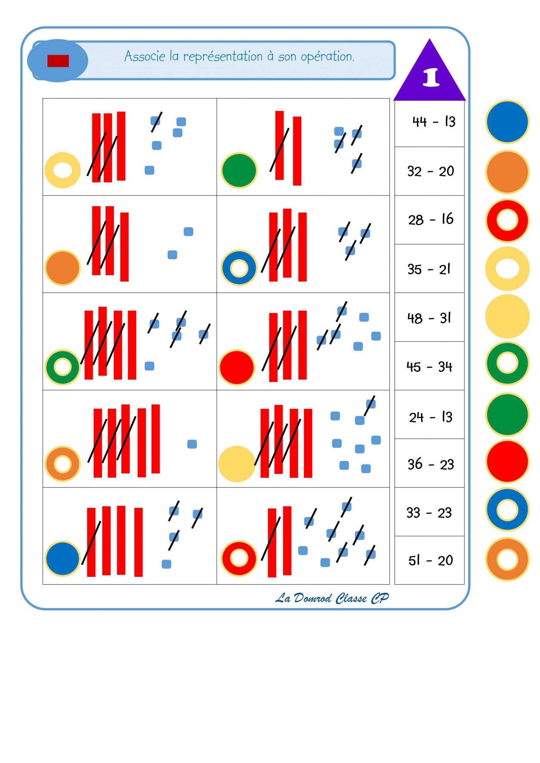 Logicos Soustraction | Soustraction, Logico Et Jeux Maths concernant Jeux De Maths Facile