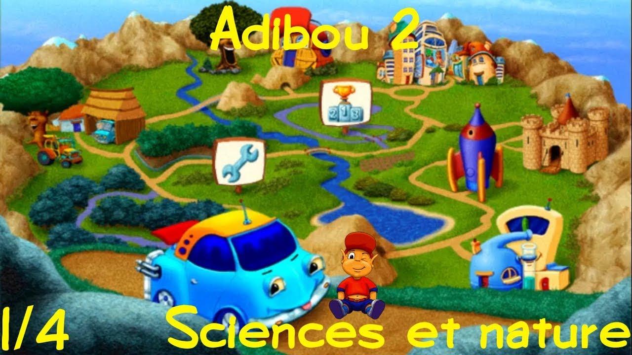 Longplay Adibou 2 - 05 Je Découvre La Nature Et Les Sciences Partie 1 concernant Adibou Voiture