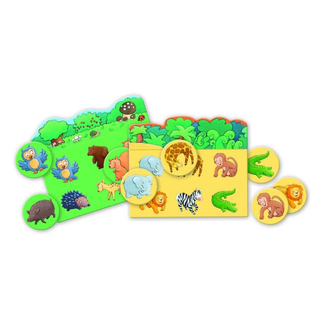 Loto Des Animaux - Jeux Jeunes Enfants - Achetez Sur Ludifolie pour Jeux Animaux Enfant