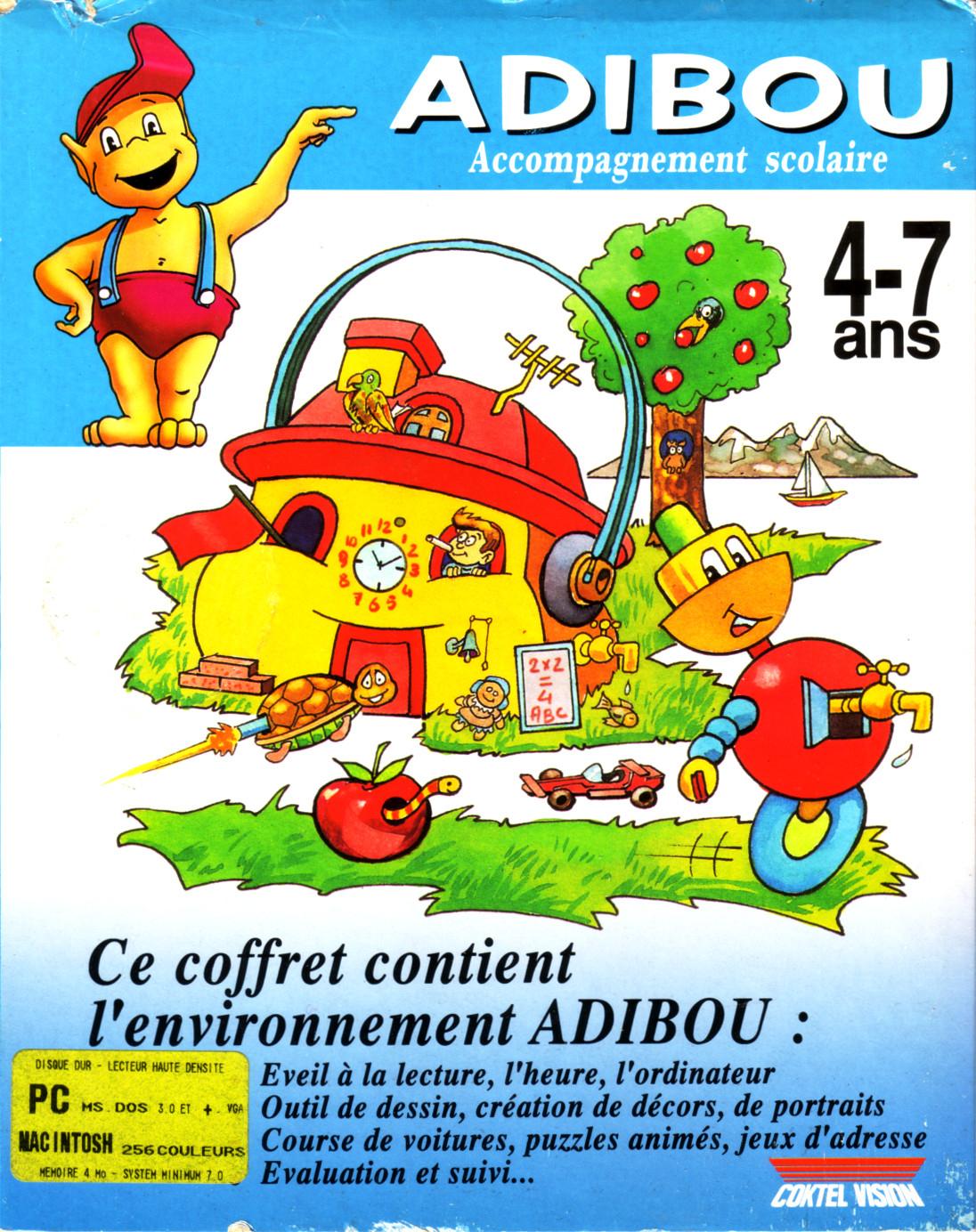 Ltf Abandonware France, Galeries D'images Du Jeu Adibou à Adibou Voiture