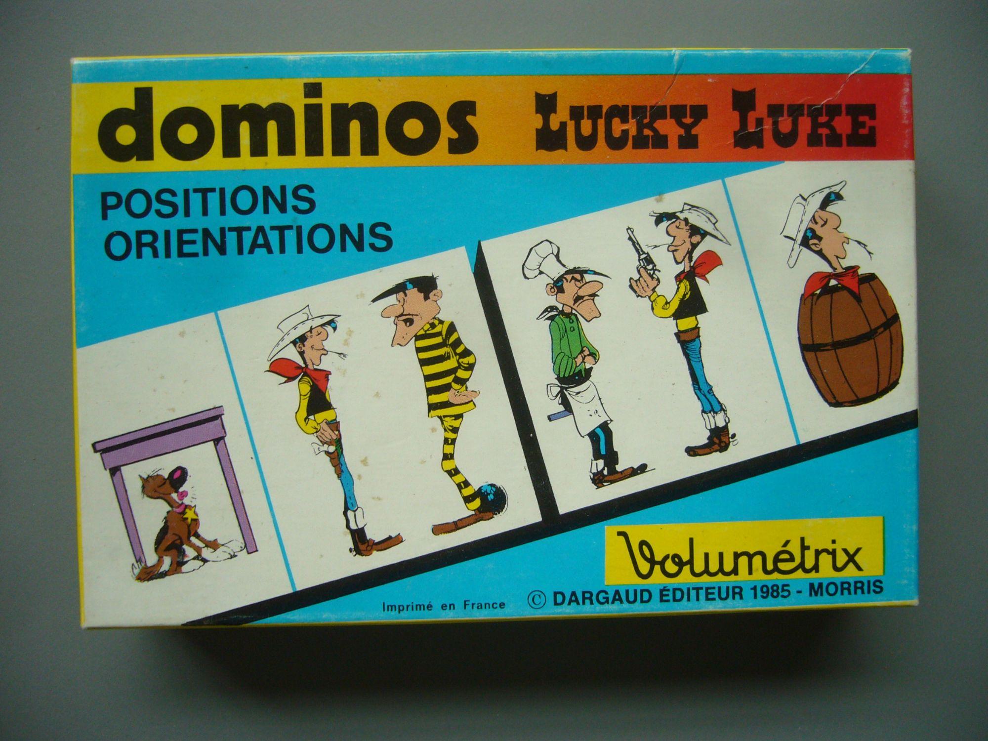 Lucky Luke - Petit Jeu De Dominos Volumetrix avec Jeux Domino Gratuit En Ligne