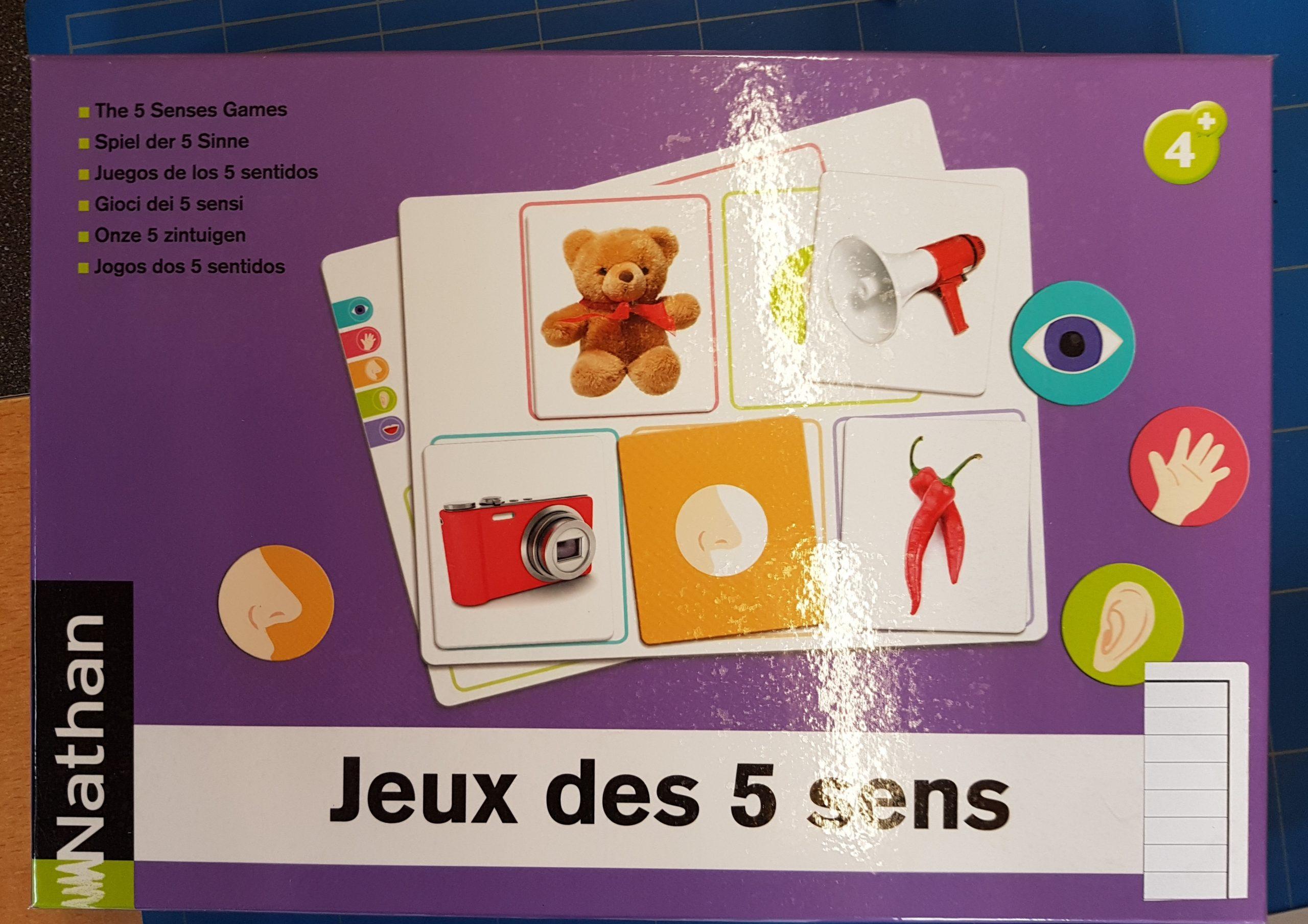 Ludothèque De Sierre - 3087---Jeux Des 5 Sens---3,00 concernant Jeu Des Cinq Sens