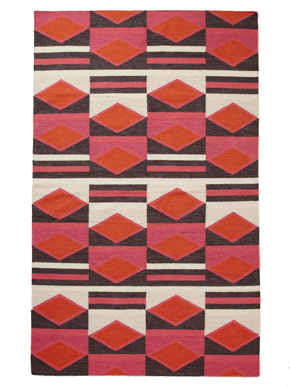 Lulu Hand-Woven Flatweave Rughome #furniture | Textile Patterns dedans Lulu Impression