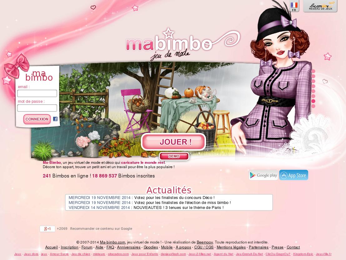 Ma-Bimbo Competitors, Revenue And Employees - Owler Company destiné Inscription Jeux De Fille