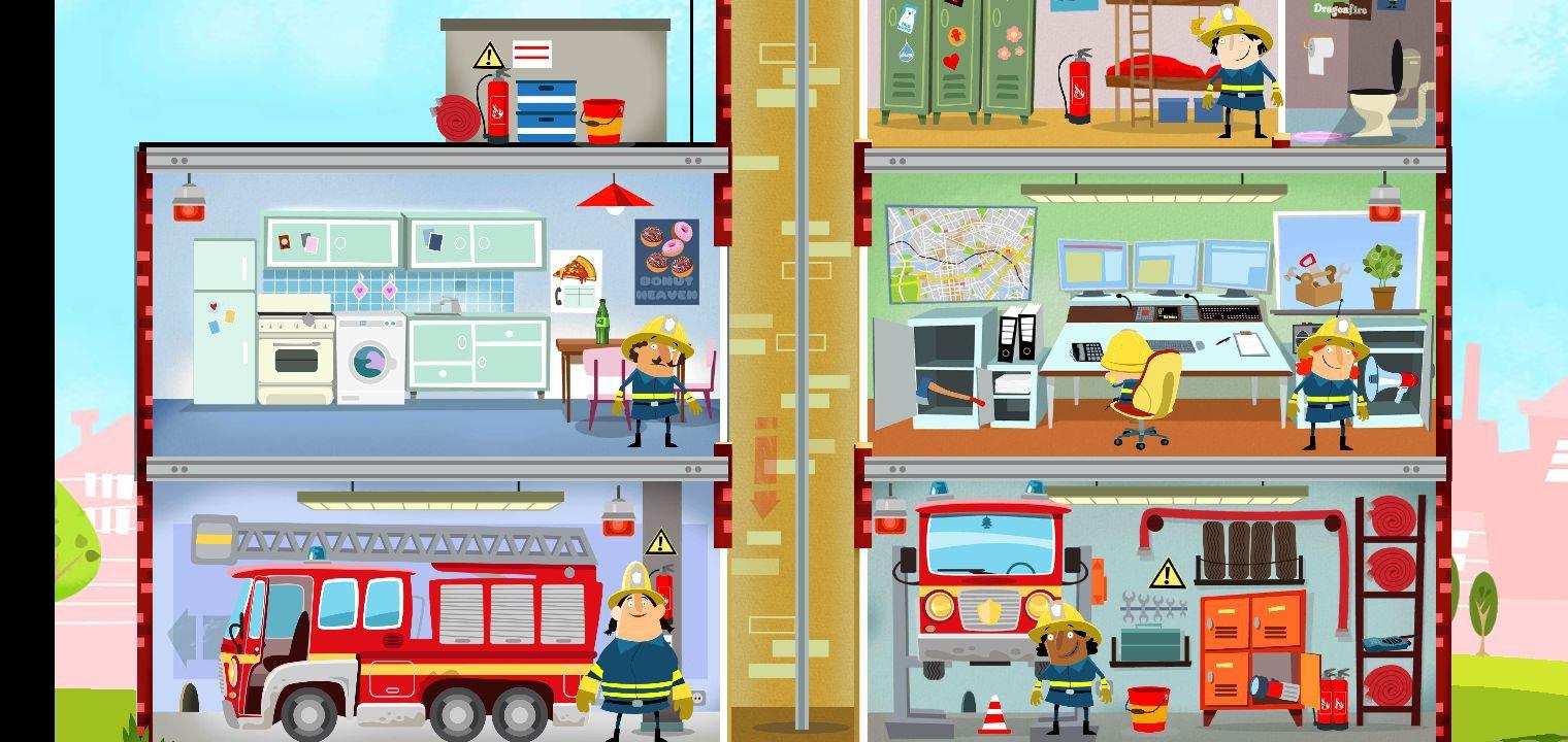 Ma Petite Caserne De Pompier 1.53 - Télécharger Pour Android tout Jeu De Pompier Gratuit