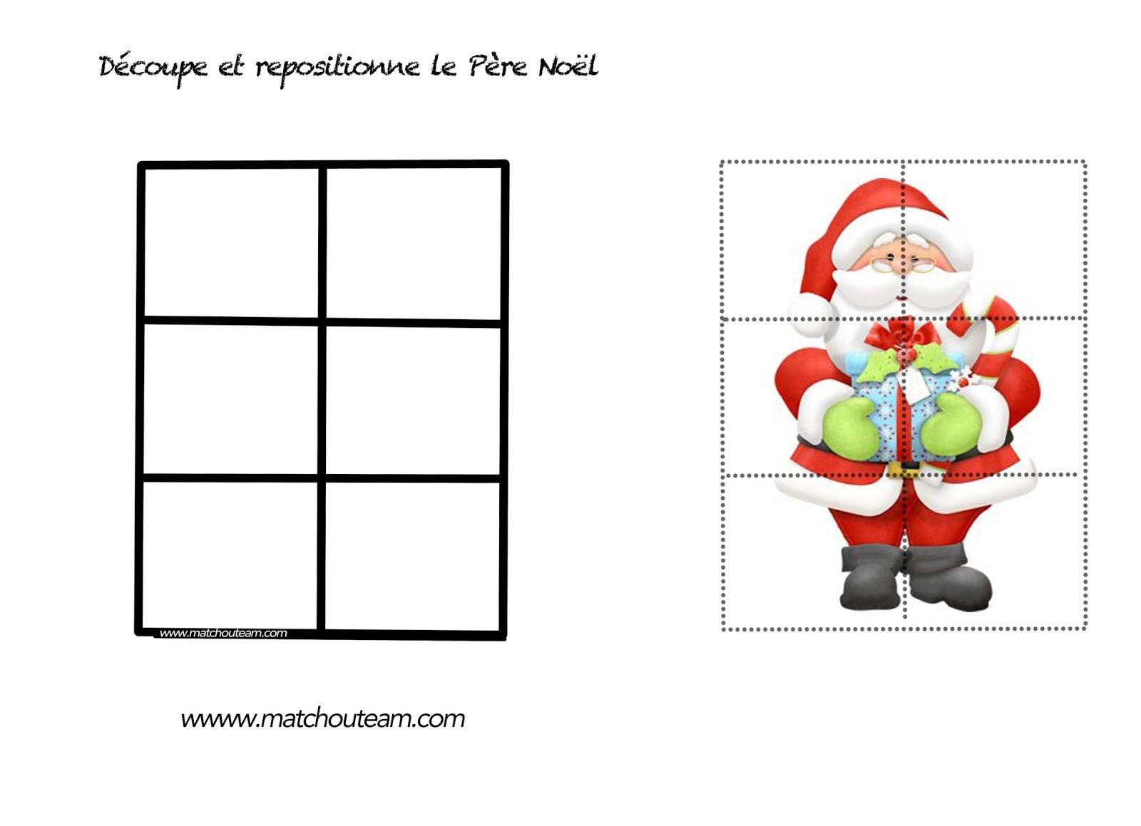 Ma Tchou Team: Coloriages Et Jeux Pour Noël dedans Jeu Noel Maternelle
