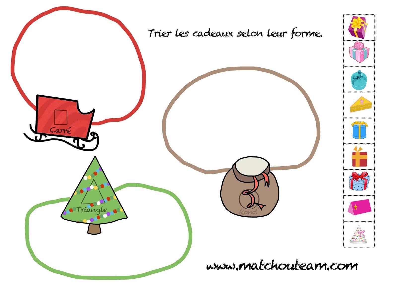 Ma Tchou Team: Coloriages Et Jeux Pour Noël tout Jeu Noel Maternelle