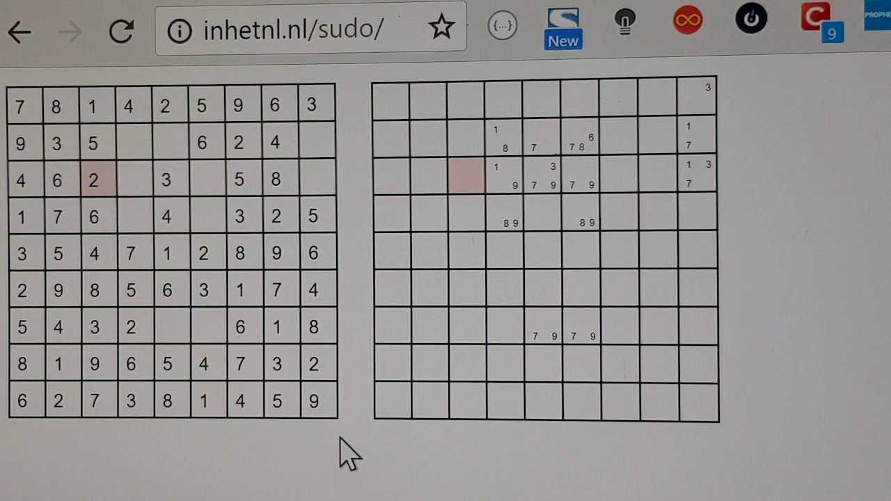 Made A Sudoku Solver In Javascript 4 Fun 2Day. avec Sudoku Logiciel