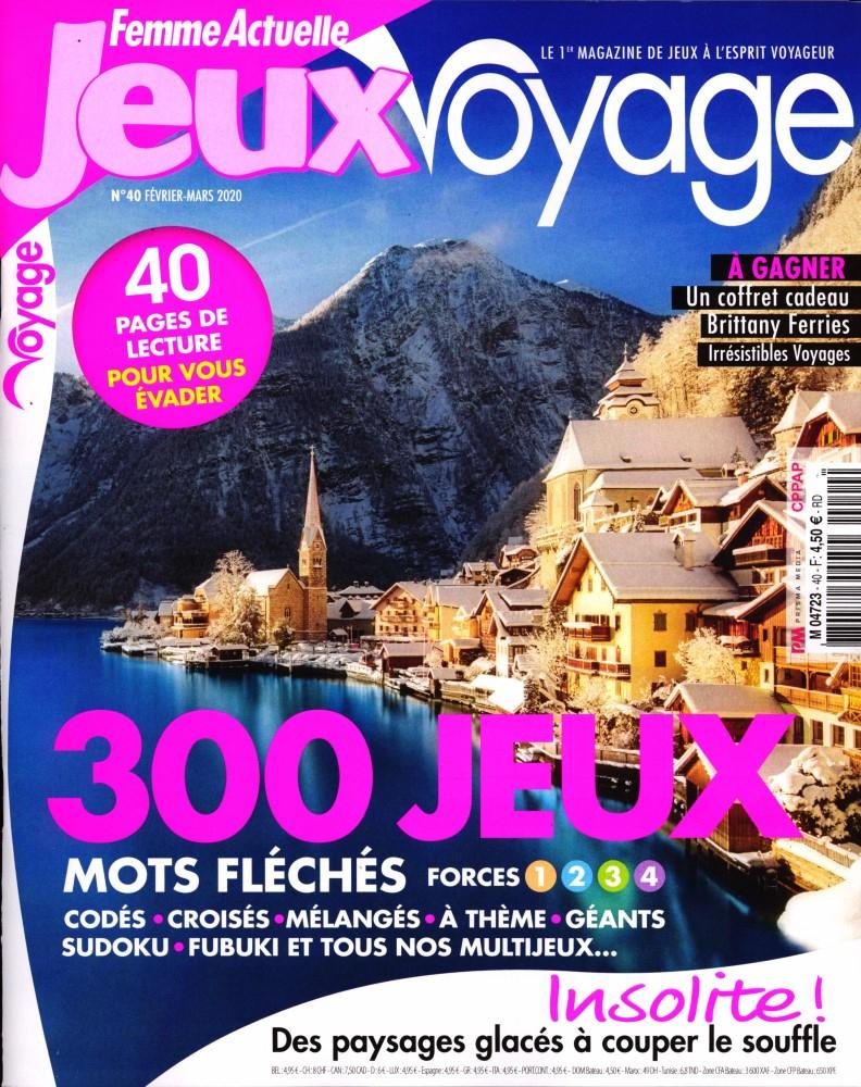 Magazine Femme Actuelle Jeux Voyage En Commande Sur Zepresse.fr intérieur Mots Fleches Gr