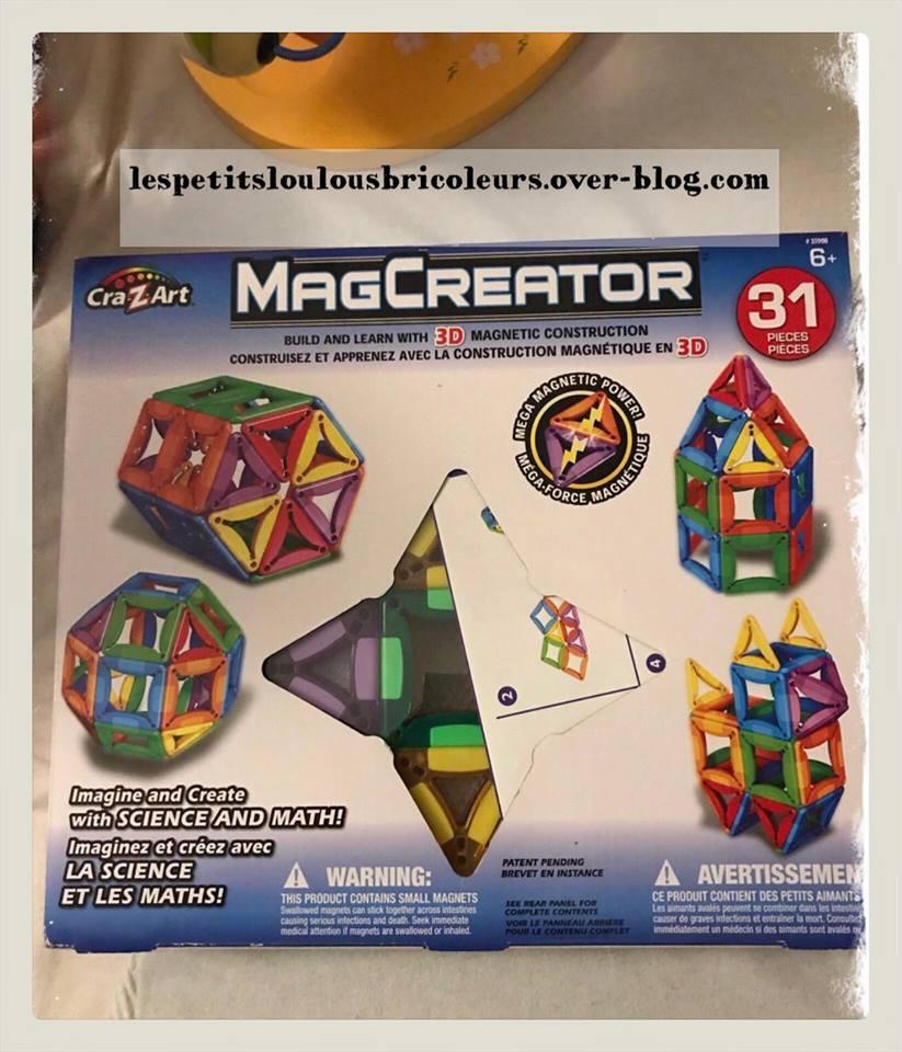 Magcreator - Jeux Magnetic Construction - Diy Faire Des pour Jeux De Exercice De Maths