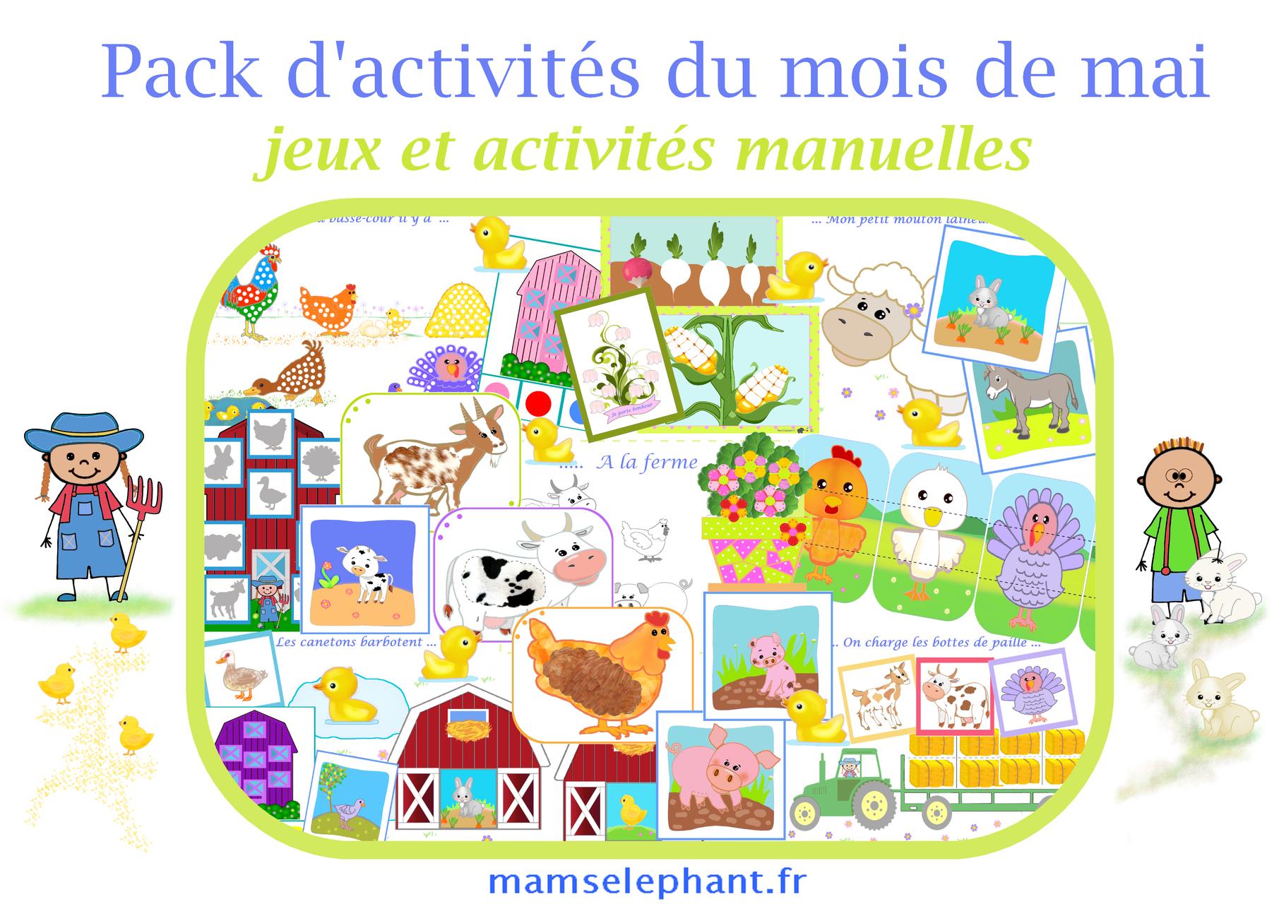 Mai - La Ferme pour Activité Manuelle Sur La Ferme