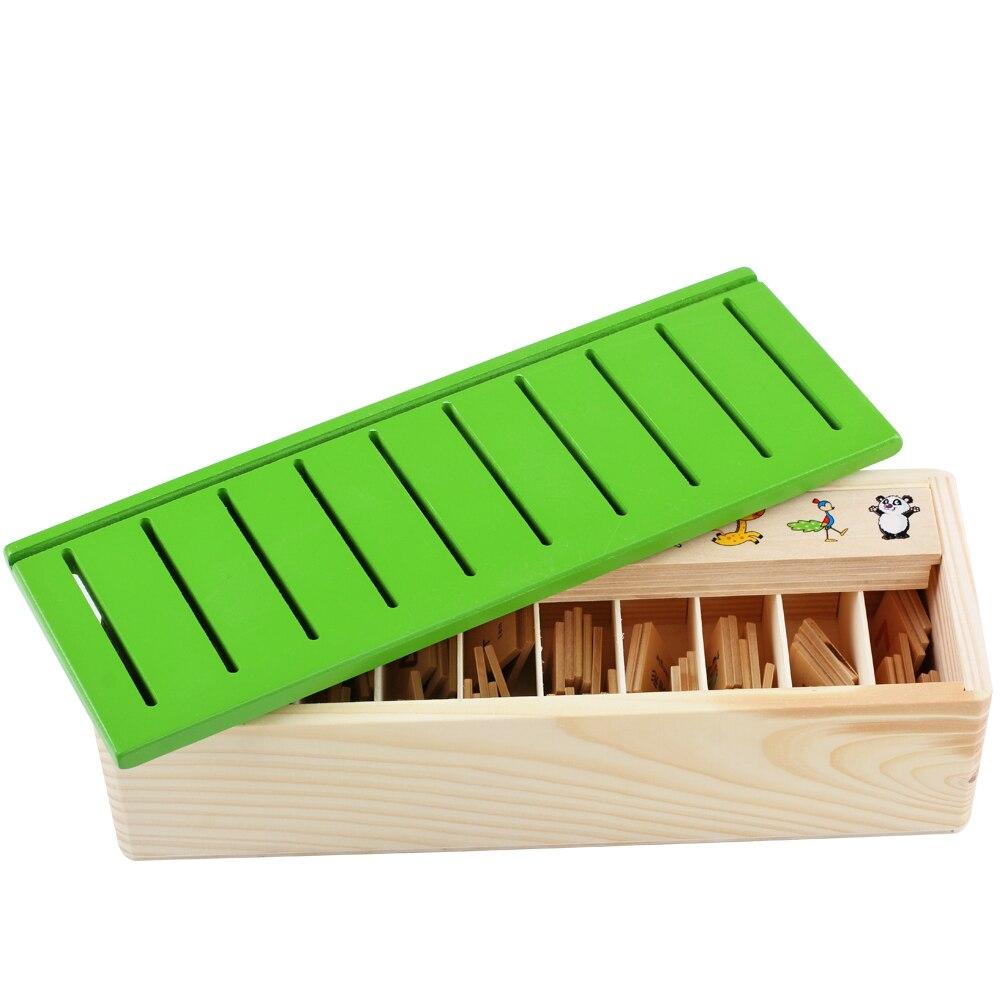Mamimamihome Bébé Jouets En Bois Montessori Aides Pédagogiques Apprendre  Boîte De Classification Sensorielle Forme Mathématique Blocs D'appariement avec Boite À Forme Montessori