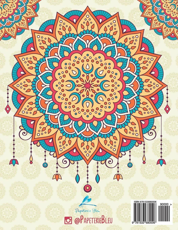 Mandala - Livre De Coloriage Pour Adultes (70 Pages) intérieur Cahier De Coloriage Enfant